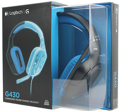 Logitech G430 Gaming Headset (Dolby 7.1 Surround Sound)