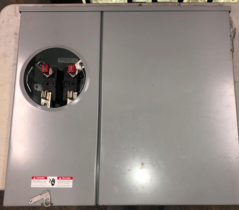 Siemens MC0816B1200RTH 150-Amp Meter Rainproof Combination Metering