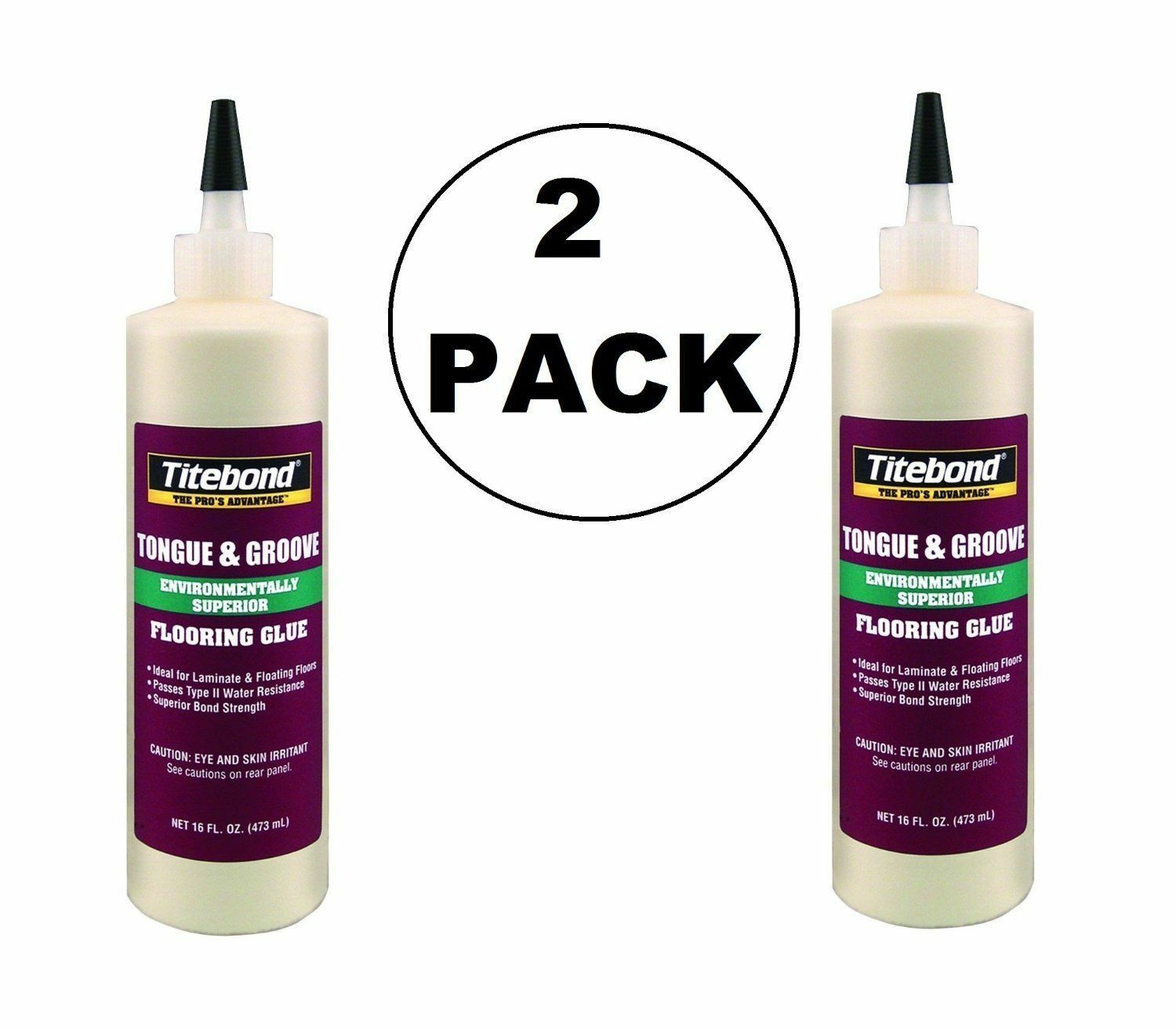 2 pack 2104 tongue and groove glue