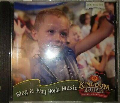 KINGDOM ROCK Sing & Play Rock Music [CD, Easy VBS, 2013] FREE SHIPPING!](Kingdom Rock Vbs)
