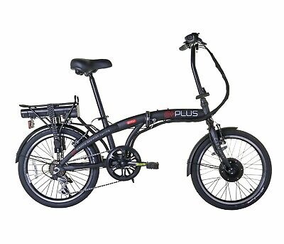 E-Plus 20 inch Wheel Size 13 Inch Frame V-Brakes Unisex Folding Electric Bike