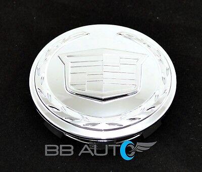 CADILLAC ESCALADE ESV EXT NEW CHROME 3.25 INCH WHEEL CENTER CAP OEM GM 9595891