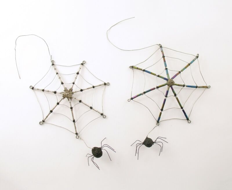 Halloween Decoration Spider Web Ornaments