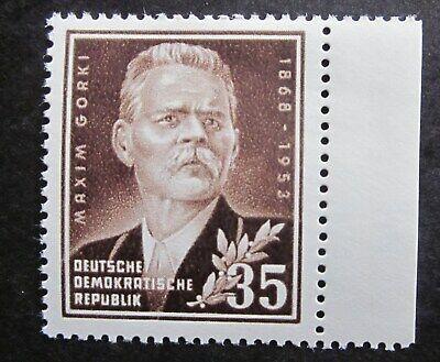 Gorki  Messe Gottwald Tag der Marke  4 Ausgaben  DDR 1952/3    4 Bilder ()