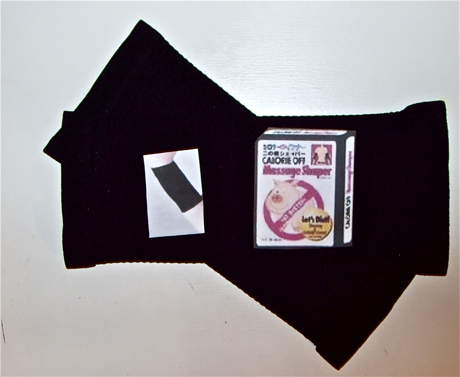 Calorie Off Pair Of Black Arm Massage Slim Trim Shapers Burning Fat Ship In Us