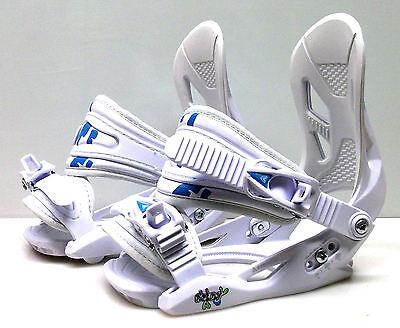New Firefly C2 Cruising snowboard bindings junior white smal