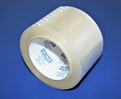 2 Rolls Uline S-445 Clear 3 X 110 Yds Industrial 2 Mil Sealing Packing Tape