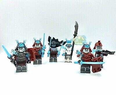 LEGO NINJAGO Ice Emperor General Vex Blizzard Mini figures 70678 70676 70671