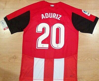 Camiseta Aduriz Athletic Bilbao Nueva 19-20 New BNWT Shirt Trikot Maillot Maglia