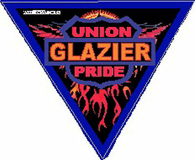 Triangle Glazier Sticker Union Pride Cglz-2