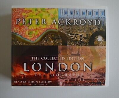 London: The Biography: Collected Edition - by Peter Ackroyd - Audiobook - 15CDs