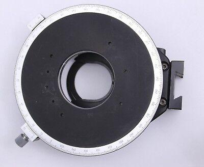 Nikon Optiphot Rotating Circular Pol Stage Microscope Petrographic