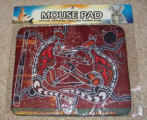 NEW Australian Aboriginal Print Pattern Mouse Pad