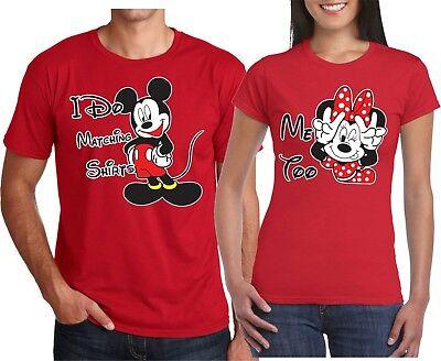 I Do Too (I Do Matching Mickey Me Too Minnie Matching Valentine's Holding hands TShirt)