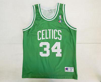 91bd7d75c4f3 BOSTON CELTICS PIERCE CHAMPION VINTAGE CANOTTA BASKET NBA JERSEY SHIRT