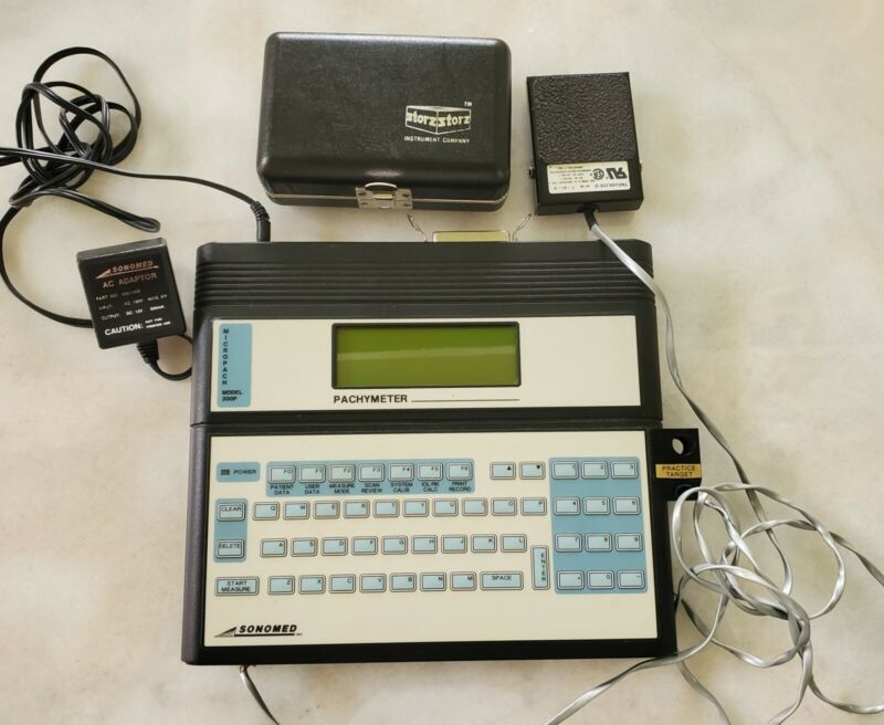 Sonomed Micropach Pachymeter - Reference: 200P