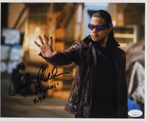 Carlos Valdes the Flash Signed Autograph JSA COA 8 x 10