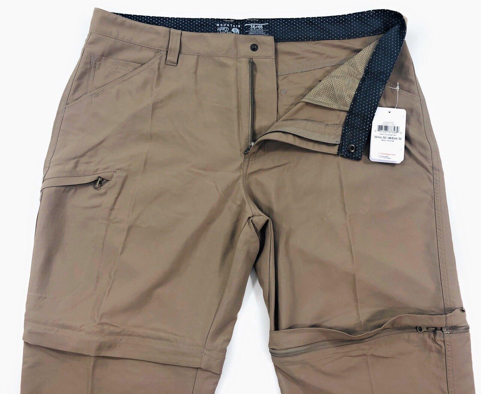 Mountain Hardwear Mesa Convertible II Pants Mens 36x32 Outdo