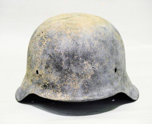 Original WWII German M42,66 Helmet
