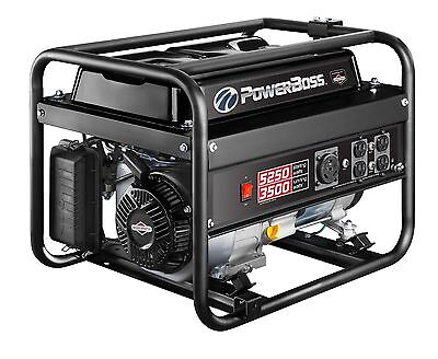 Briggs & Stratton PowerBoss 30667 3500W On-going Gas Powered Portable Generator