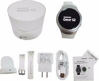 Samsung Galaxy Gear S2 42mm Smartwatch Acciaio Inox Bianco Band Sm-r720 Argento - smart - ebay.it