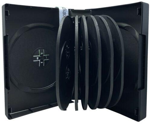 DVD case (black) for 14 discs - hard plastic