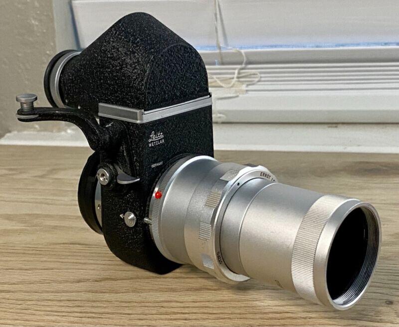 Leica M Mount Visoflex II /w Prism ViewFinder, OTZFO Extension, OSTRO 4.5 135mm