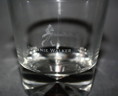 Klar Tumbler (Johnnie Walker Scotch Whisky Whiskey Glas Tumbler klar Spirituose Genießen NEU)