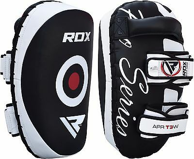 RDX Pair of Thai Pads Strike Shield Arm Pads Kick Boxing Punching MMA Focus Pad