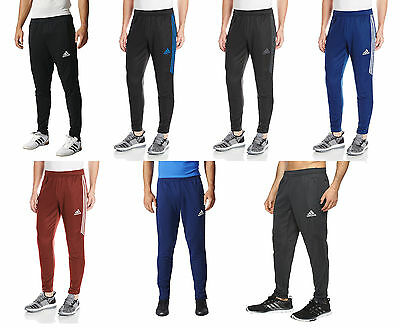 New Mens Adidas Tiro 17 Slim Soccer Training Pant Climacool All Colors   Sizes