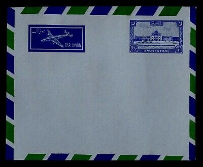 DR WHO PAKISTAN AIRMAIL STATIONERY UNUSED C242676