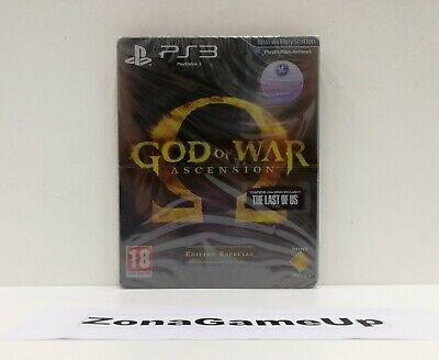 GOD OF WAR ASCENSION EDICIÓN ESPECIAL - PS3 NUEVO PRECINTADO
