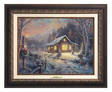Thomas Kinkade Holiday Tradition 12 x 16 Classic Collection (Framed)