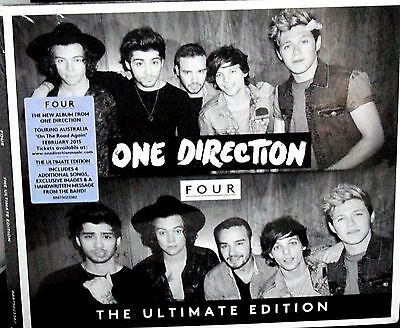 Four ,Deluxe Ultimate Edition by One Direction NEW! CD, 4 EXTRA SONGS,RARE comprar usado  Enviando para Brazil