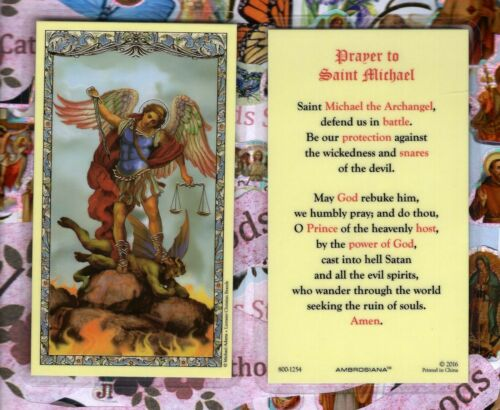 St. Michael the Archangel with Saint Michael