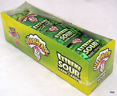 Warheads 12 Ct 1 oz Packs Extreme Sour Candy Bulk Candies War Heads Warhead Head - Warhead Jelly Beans