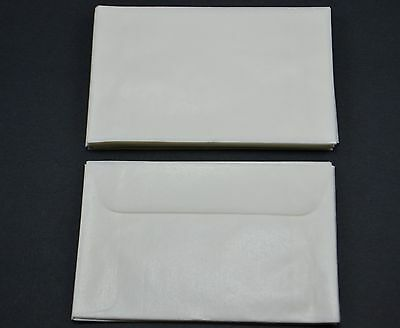 """lot of 100 - # 1 GLASSINE ENVELOPES 1 3/4"""" X 2 7/8"""" STAMP COLLECTING STORAGE NEW"""