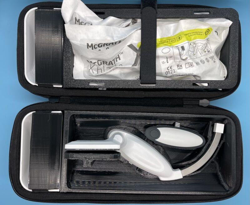 McGrath Video Laryngoscope Case Custom 3D printed - BLACK - (Best Offer Listing)