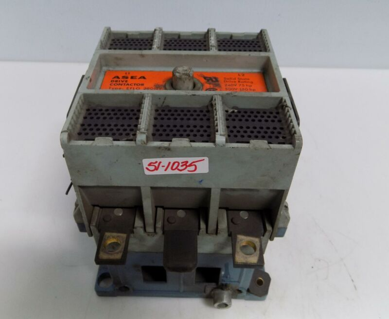 ASEA DRIVE CONTACTOR EFLG 280-2P