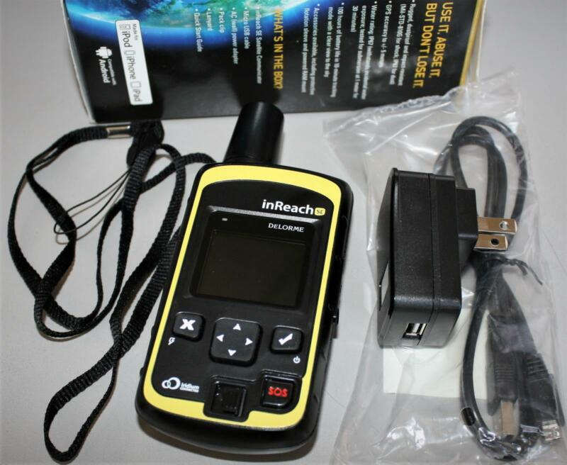 DeLorme inReach SE Global Satellite Communicator INRCH20 Tracker Two-Way Message
