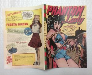 Phantom Lady #17 Photocopy REPLICA Comic Book (see details)