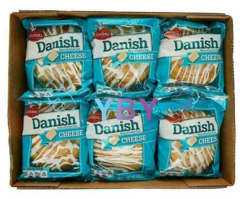 Cloverhill Cheese Danish 12 CT 48 OZ