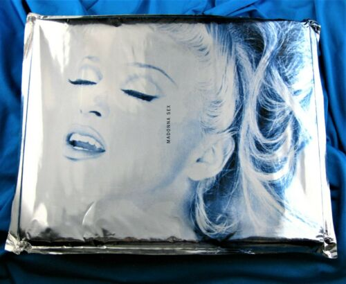 MADONNA SEALED SEX BOOK w/ PROMO CD & DITA COMIC WARNER US 1992 First Printing