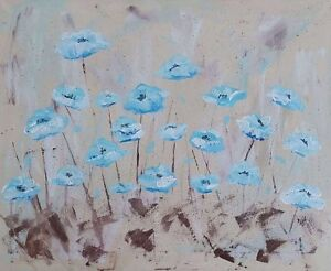 Flowers painting by local artist