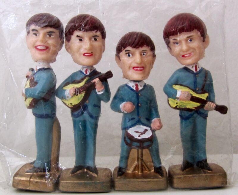 THE BEATLES. HEAD NODDERS. BOBBLEHEADS. 1960