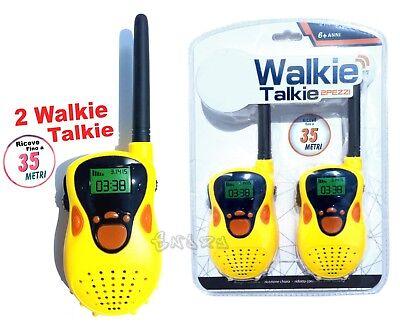 Walkie Talkie para Niños Transceptor Calzada Hasta 35M