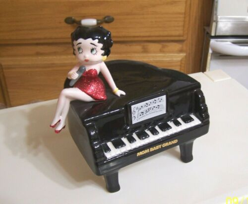 BETTY BOOP ON PIANO MUSICAL MGM GRAND 1993 K.K.S