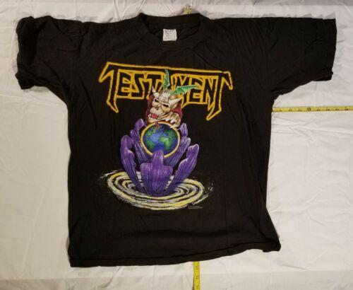 TestAmenT vtg 1992 European tour shirt  NOT a  reprint. Iron Maiden  Slayer