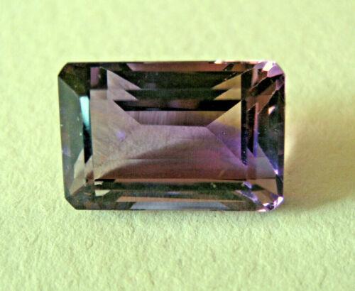 Ametrine Gemstone Emerald Cut 18 mm x 10 mm x 10 mm 16.8 Cts