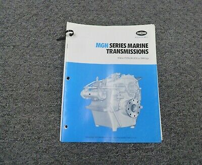 Twin Disc Mgn-1725h Transmission Assembly Dimensional Specifications Manual